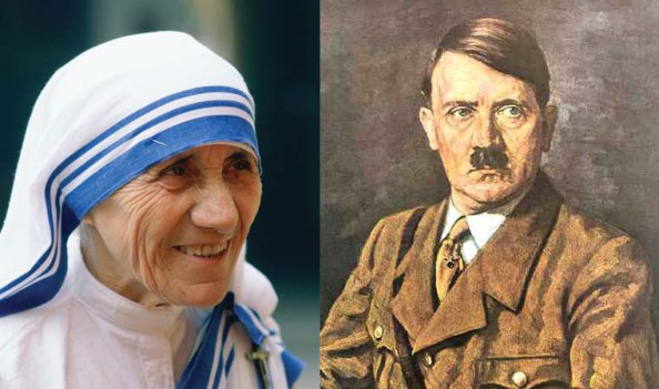 The Mars Effect: Hitler vs. Mother Teresa