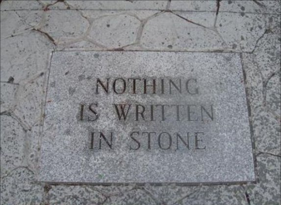 Is My Fate Written in Stone? Can I do Anything About It?