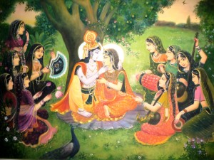 Krsna-and-Gopis
